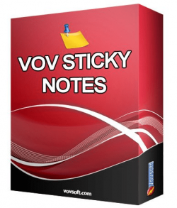 VovSoft Vov Sticky Notes 7.4 Crack With Latest Version Free Download [2022]